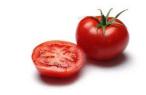 overskåret tomat